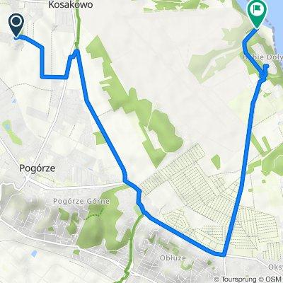 Paprykowa 23, Dębogórze do Polska