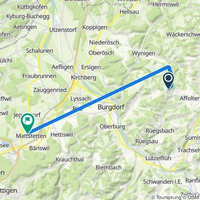 Heiligenland 2, Affoltern BE nach Föhrenweg 93, Mattstetten