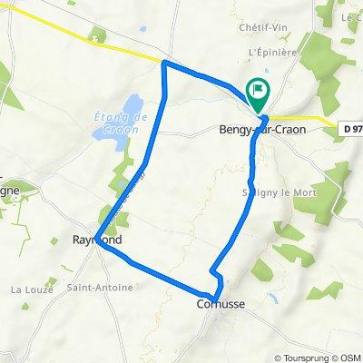 De 12 Rue du Chapelet, Bengy-sur-Craon à 5 Rue du Chapelet, Bengy-sur-Craon
