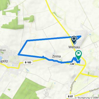 Zinnaer Weg 30, Torgau nach Amselweg 16, Torgau