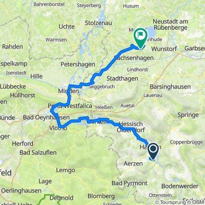 14/16 Hameln (Schutzhütte Tünder) - Hagenburg (Steinhuder Meer)