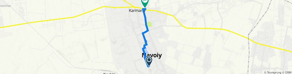 От Navoiy ko'chasi до M-37, Karmana