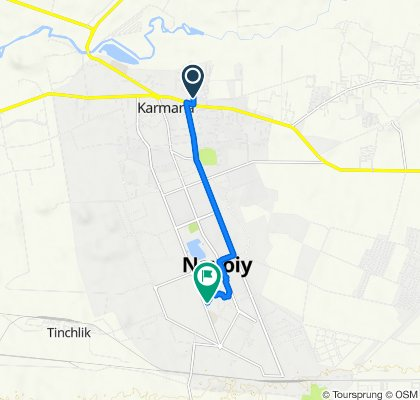 От M-37, Karmana до Navoiy ko'chasi