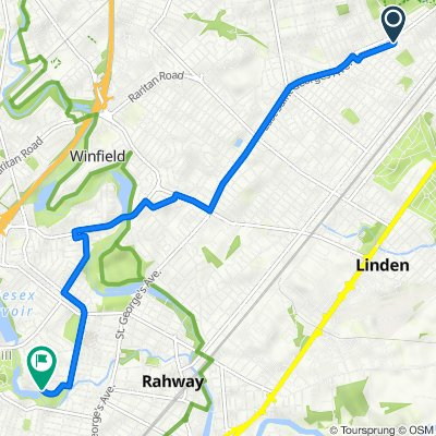 Nora Drive 1008, Linden to Midwood Drive 927, Rahway