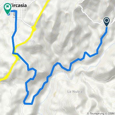 Ruta a Carrera 10 10-38, Circasia