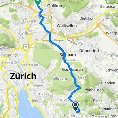 Bühlstrasse 31, Zollikerberg nach Sägereistrasse 25, Glattbrugg