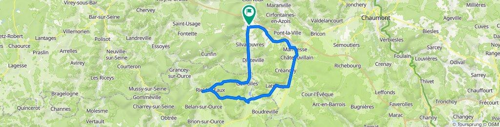 De la Ferté à Rue Pierre Marasi 1, Laferté-sur-Aube