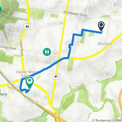 402 Hibiscus Close, Wishart to 2049E Logan Road, Upper Mount Gravatt