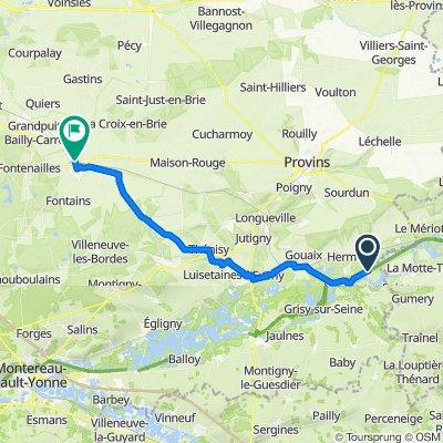 Itinéraire à partir de Rue Neuve, Villiers-sur-Seine