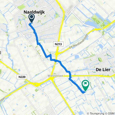 Patijnenburg, Naaldwijk do Schefferweg 2, De Lier