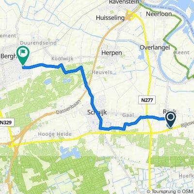 Radmakerstraat 1–11, Reek naar Rijstveld 17, Berghem