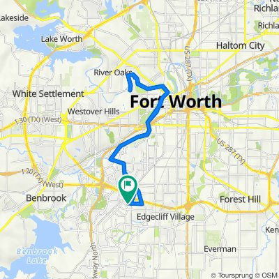 3921 Wedgway Dr, Fort Worth to 3929 Wedgway Dr, Fort Worth