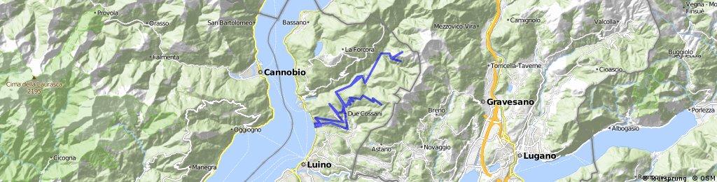 Alpe Pradecolo - Curiglia - Viasco - Sarona
