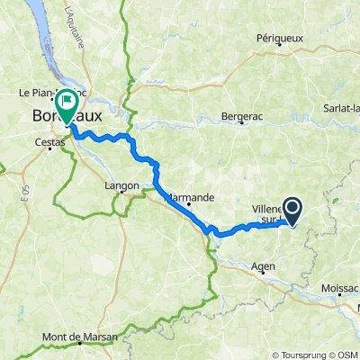 Finish jusqu'à Bordeaux