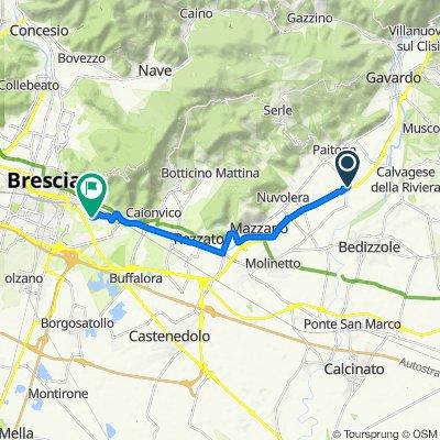 Da SS45bis, Prevalle a Via Donato Bramante 118, Brescia