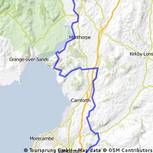38m Ride home via Silverdale and Arnside