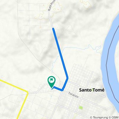 De Santo Tome a Avenida de las Americas 390, Santo Tome