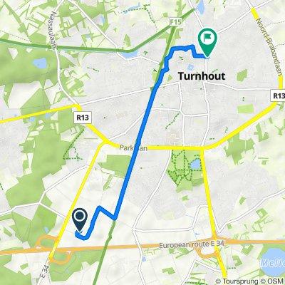 Slachthuisstraat 102–112, Turnhout naar Patersstraat 68, Turnhout
