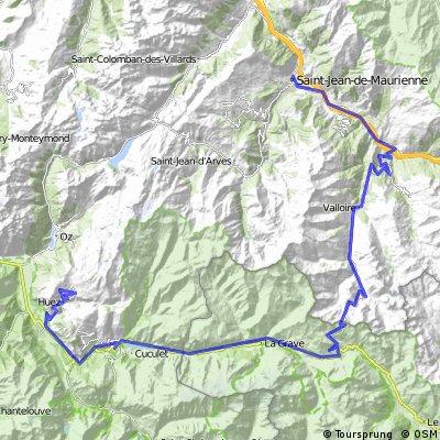 Galibier -Col de Lautaret - Alpe d Huez