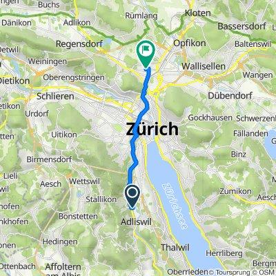 Im Sihlhof 4, Adliswil to Eduard-Imhof-Strasse 2C, Zürich