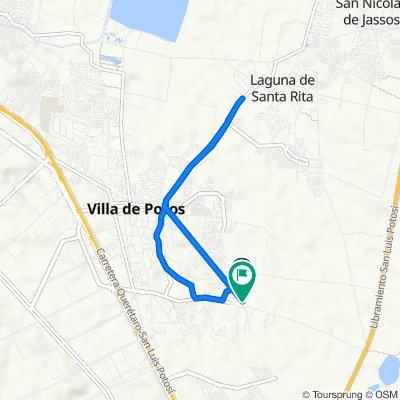 Ruta desde Circuito Modena, San Luis Potosí