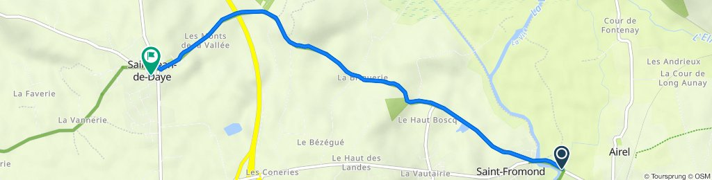 De 20 Village du Pont, Airel à 1 Rue du Château d'Eau, Saint-Jean-de-Daye