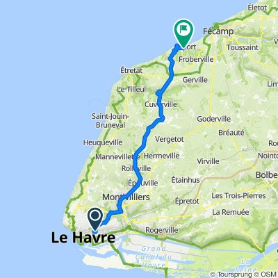 Le Havre - Yport