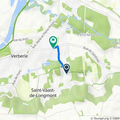 De 14 Rue Châtelaine, Saint-Vaast-de-Longmont à 21 Rue de Saintines, Verberie