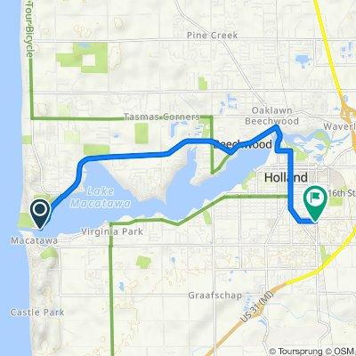 Ottawa Beach Road 2330, Holland to East 25th Street 215, Holland
