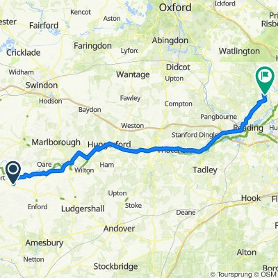 92km Chirton to Henley on Thames
