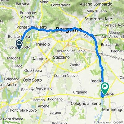 Da Via Palma Il Vecchio 112/30, Bonate Sotto a Via Ghidini 15, Ghisalba