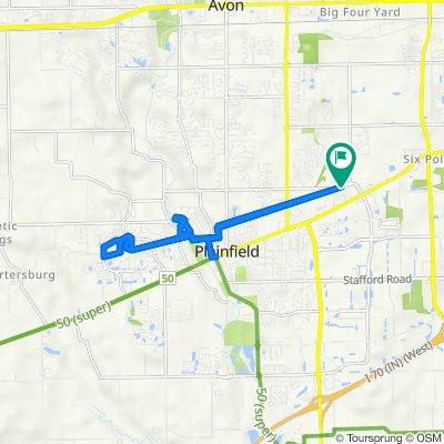 11314 Township Line Rd, Plainfield to 11314 Township Line Rd, Plainfield