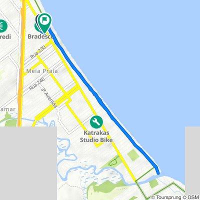De Rua Duzentos e Vinte e Dois, 40, Itapema a Avenida Nereu Ramos, 3333, Itapema