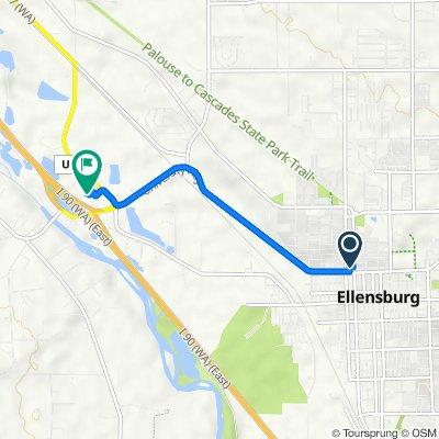 805 N Main St, Ellensburg to 2705 Triple L Loop, Ellensburg