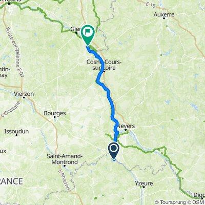 Itinéraire vers 2–46 Rue Franche, Châtillon-sur-Loire