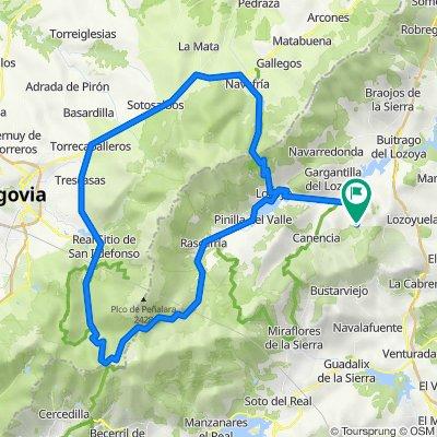 Garganta - La Granja - Navafría