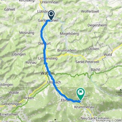 Wenzelstrasse 2, Ganterschwil nach Wintersberg 2403, Ebnat-Kappel