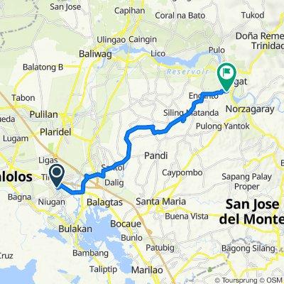 Guiguinto to Pundicion Street 0566, Angat