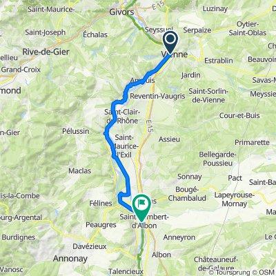 09: ViaRhôna de Saint-Romain-en-Gal / Vienne à Sablons