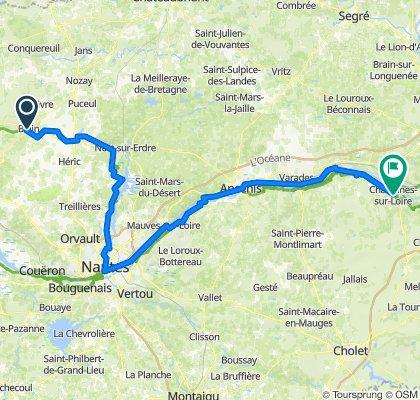 Blain - Chalonnes sur Loire