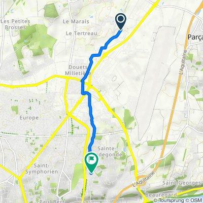 De 2 Rue Émile Dewoitine, Parçay-Meslay à 13 Rue Paul Cézanne, Tours