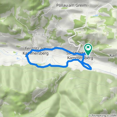 Sankt Peter 101–105/1, Sankt Peter am Kammersberg nach Sankt Peter 70, Sankt Peter am Kammersberg