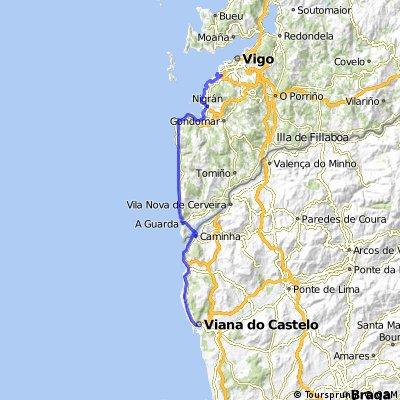 Vigo - Viana do Castelo