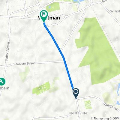 109 Washington St, East Bridgewater to 535 Washington St, Whitman