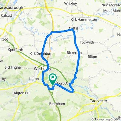 11 Nursery Way, Wetherby to 11 Nursery Way, Wetherby