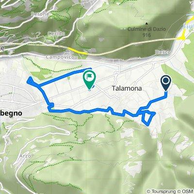 Da Via Malasca 29, Talamona a Via Roma 47, Talamona