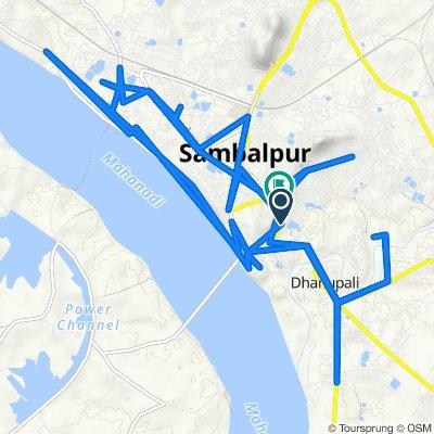 Sambalpur to Sambalpur