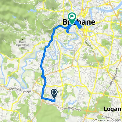 237 Forest Lake Boulevard, Forest Lake to 14 Hockings Street, South Brisbane