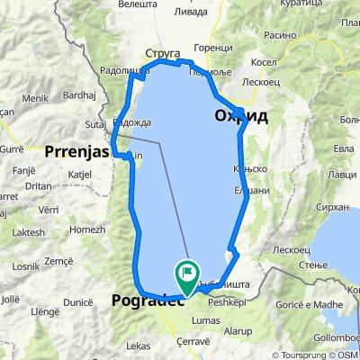 Albania D1 2021_dookoła jeziora