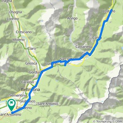 Sant'Antonino TI - Bellinzona - Lostallo